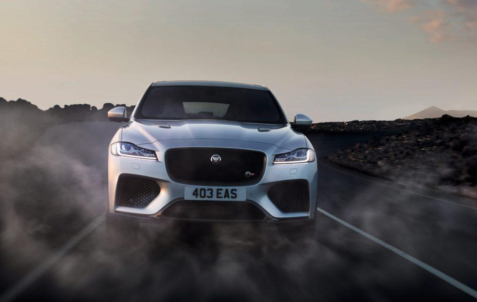 2019 Jaguar F-PACE SVR gets 550HP V8 to give Porsche anxiety