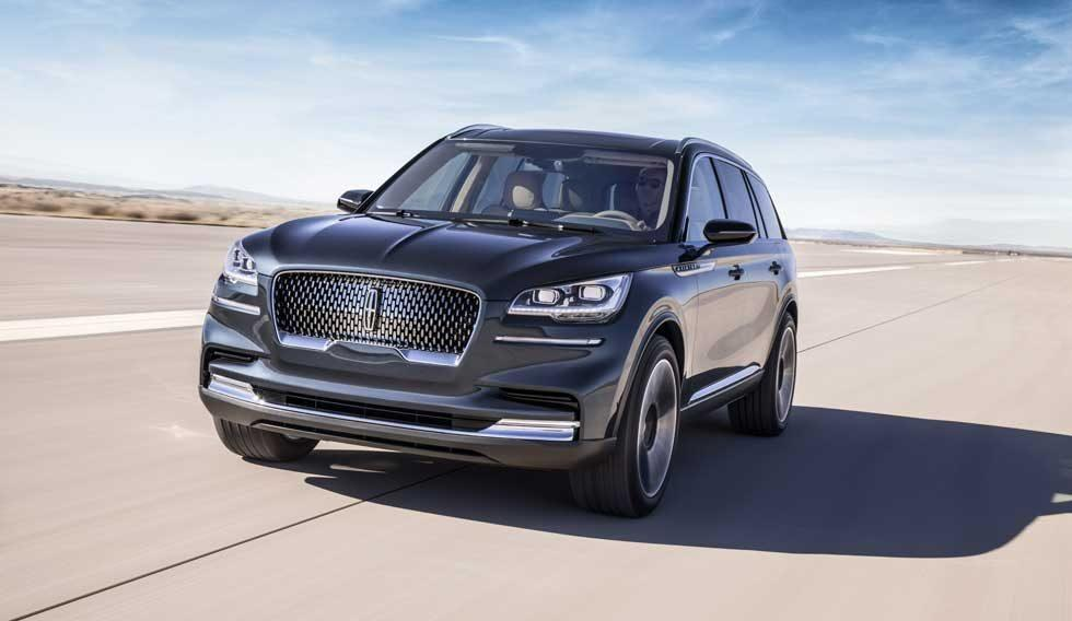 Lincoln Aviator is a 3-row SUV previewing brand's future