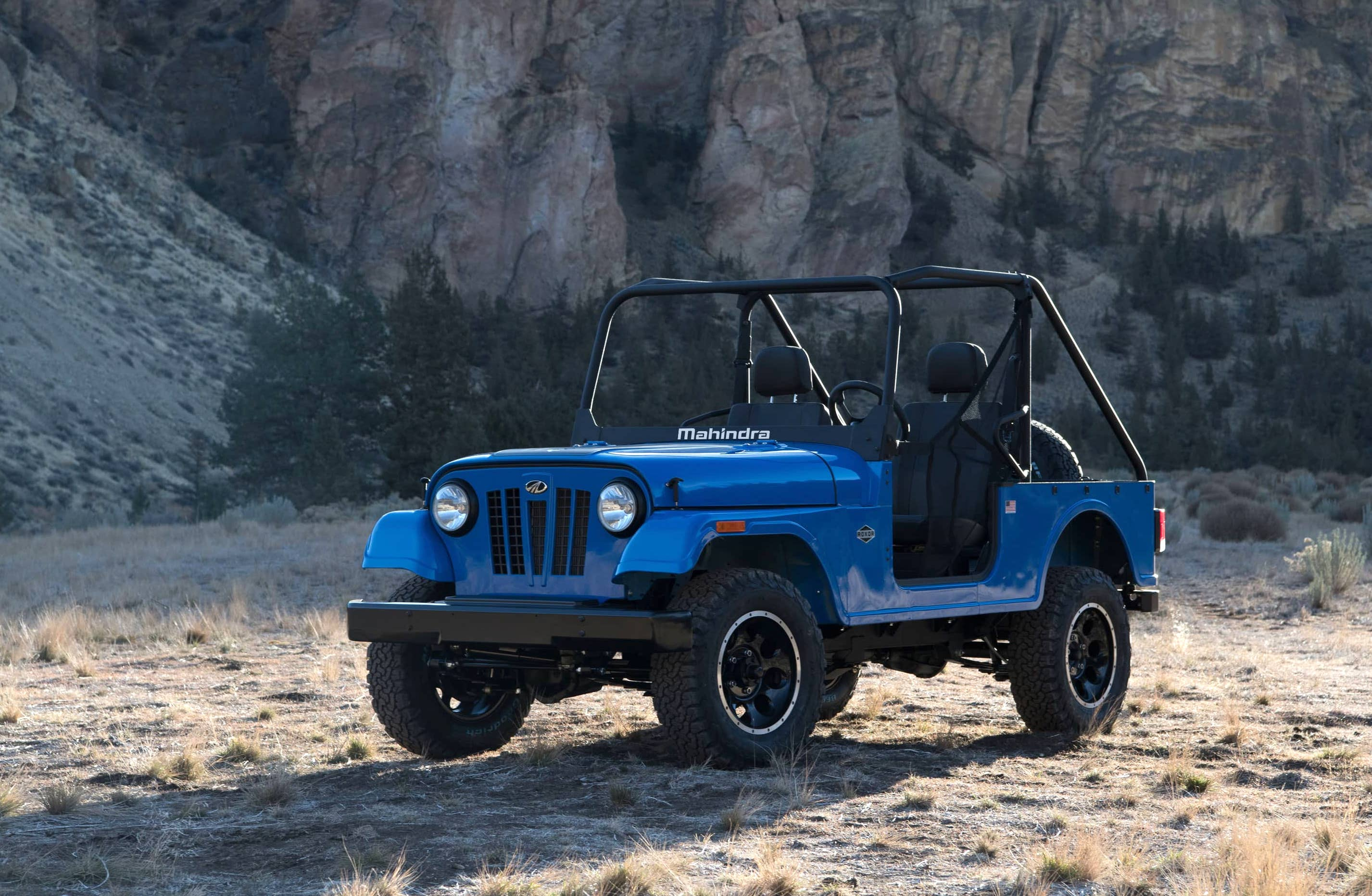 This Mahindra Roxor is a modern Willys with just one downside