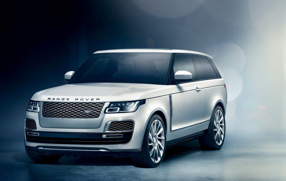 Range Rover SV Coupe blends extreme luxury with SUV ability
