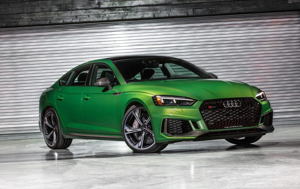 2019 Audi RS 5 Sportback is a 5-door coupe with 444 HP
