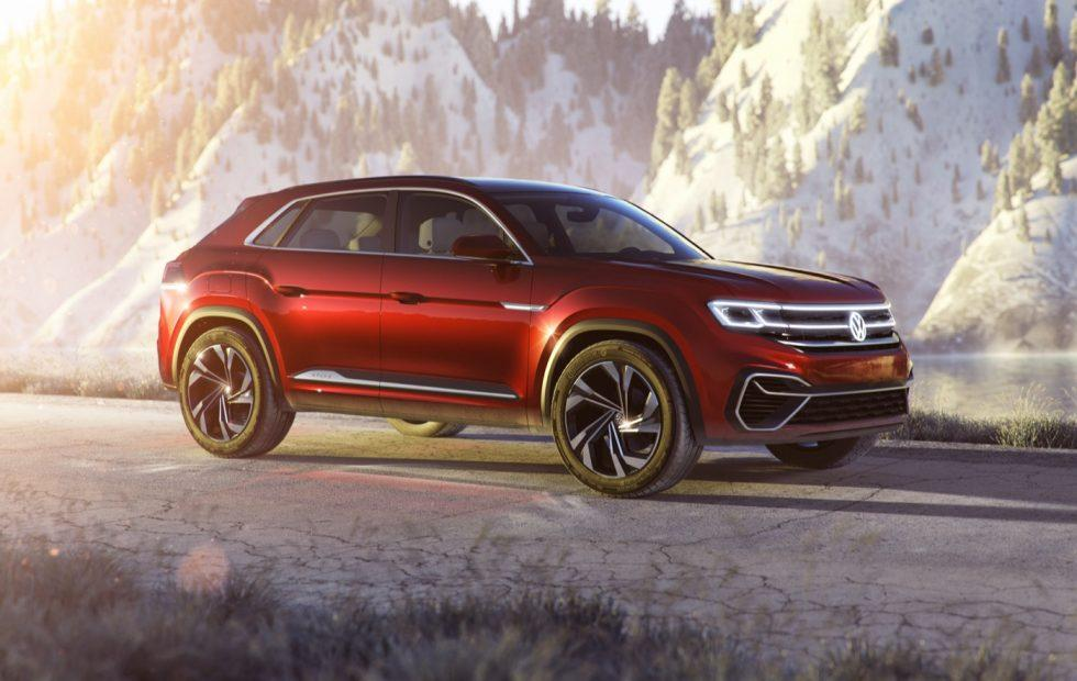VW Atlas Cross Sport Concept teases 2019's 5-seat SUV hybrid