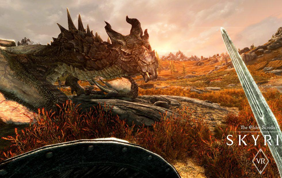 Skyrim VR is coming to Steam next month