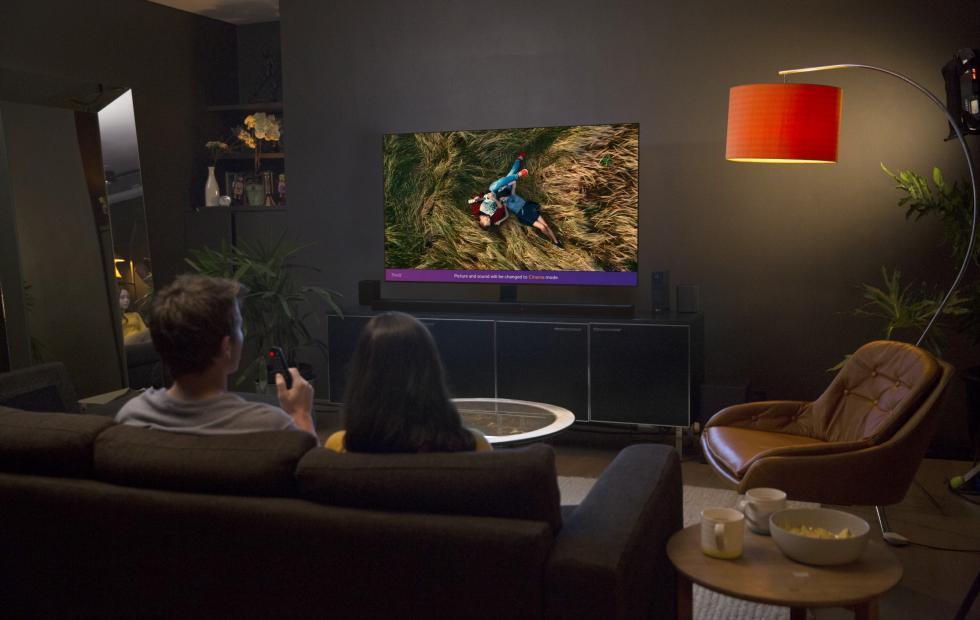 LG 2018 TV lineup boasts OLED, Super UHD LCD, ThinQ AI
