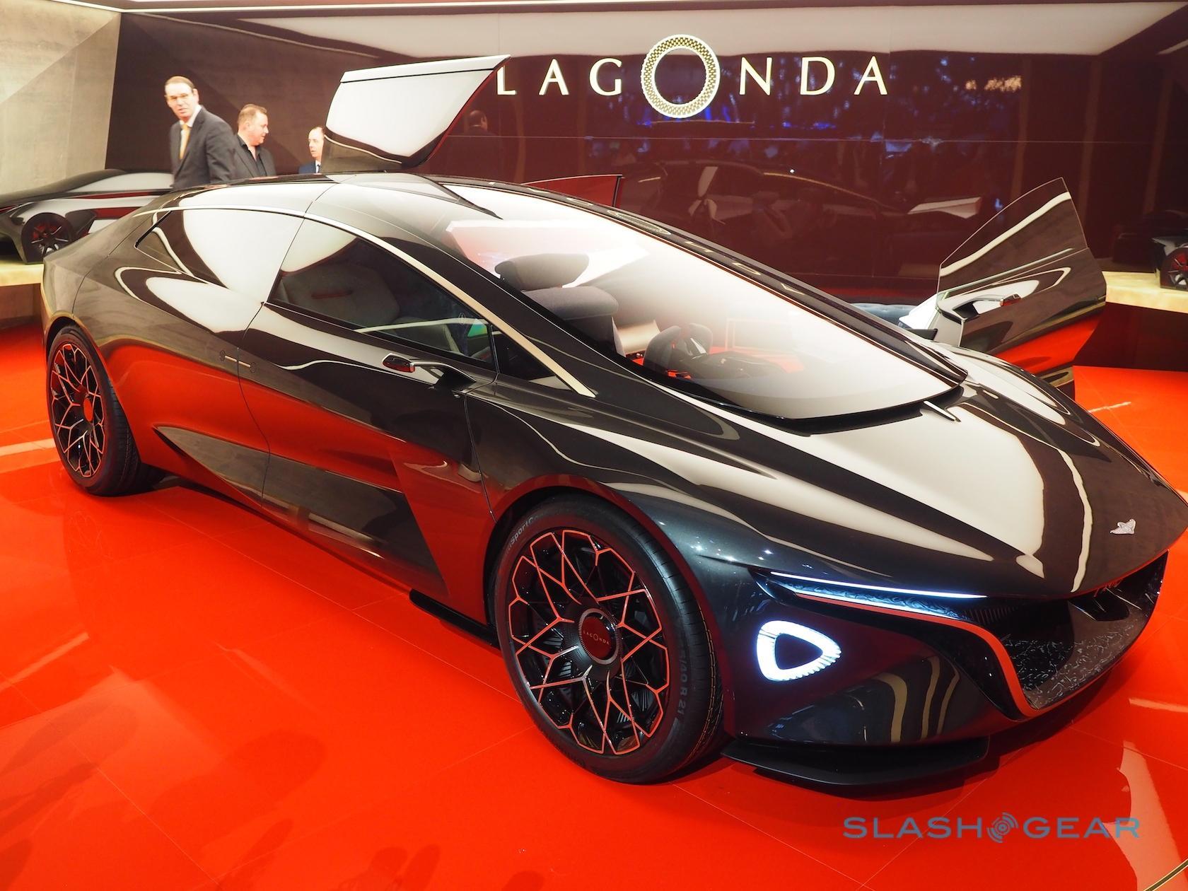 This Lagonda All Terrain Suv Will Head Aston Martin S Luxury Ev Roadmap Slashgear