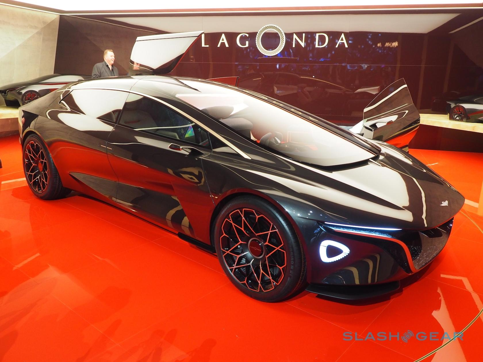 Aston Martin Lagonda Vision Previews All Ev Luxe Future Slashgear