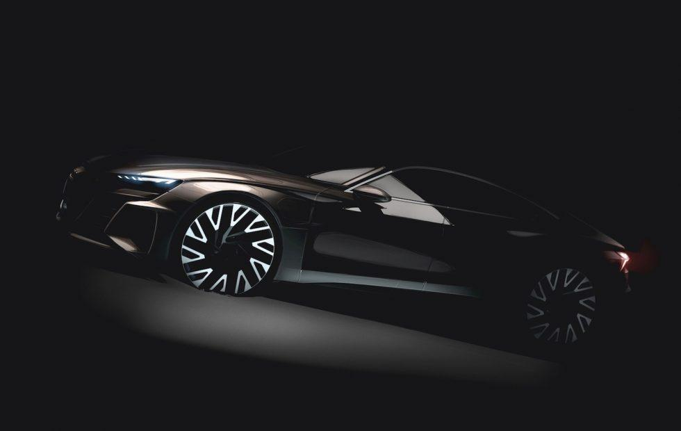 Audi E-Tron GT all-electric super sedan previewed
