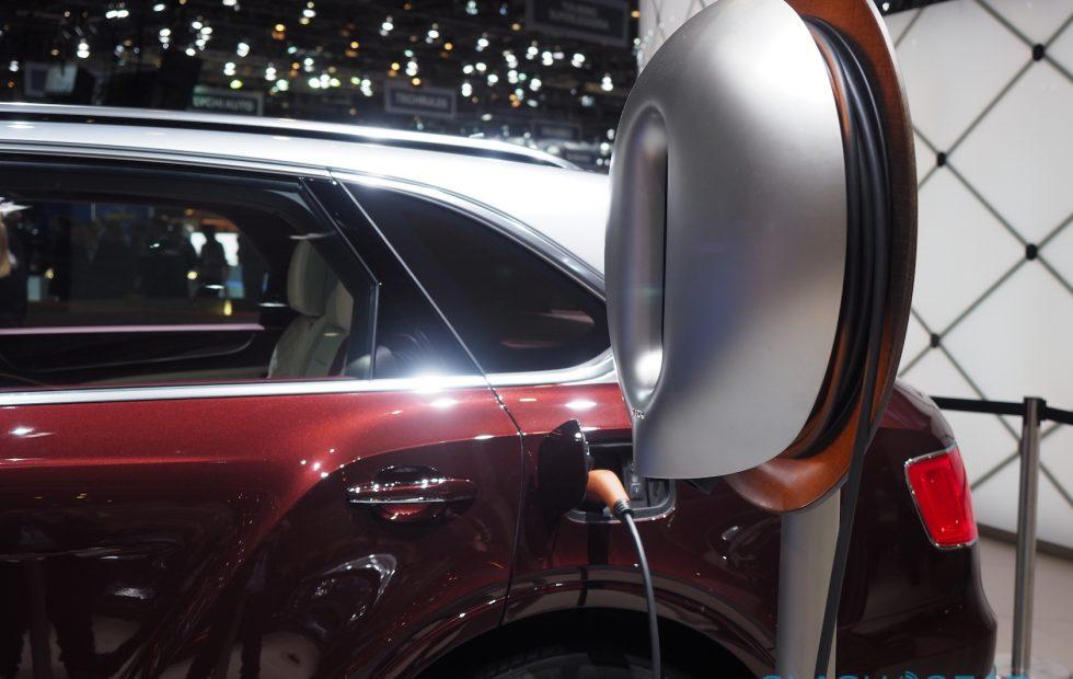 Did Bentley just make the most beautiful electric car charger?