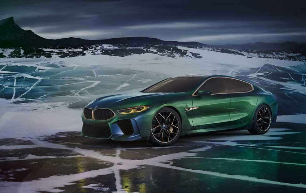 BMW Concept M8 Gran Coupe is the new luxury sport hotness