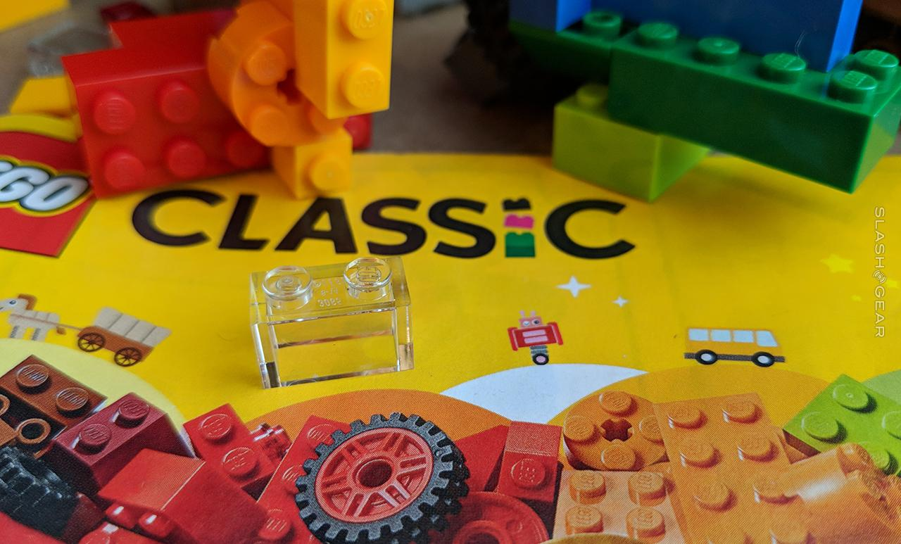 Classic rainbow box of LEGO Review (Bricks on a Roll