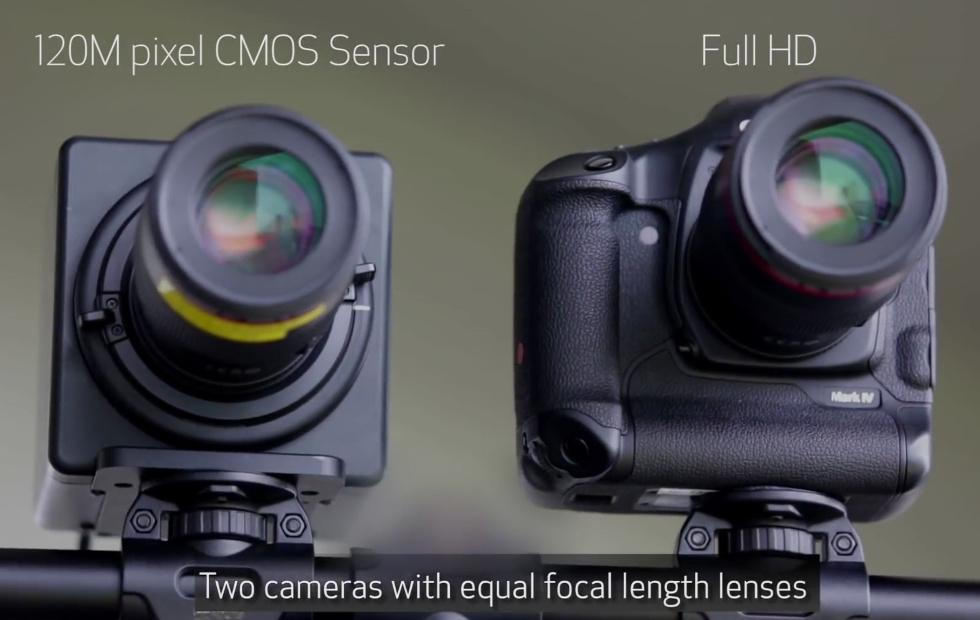 Canon 120MXS 120MP sensor will be great for surveillance