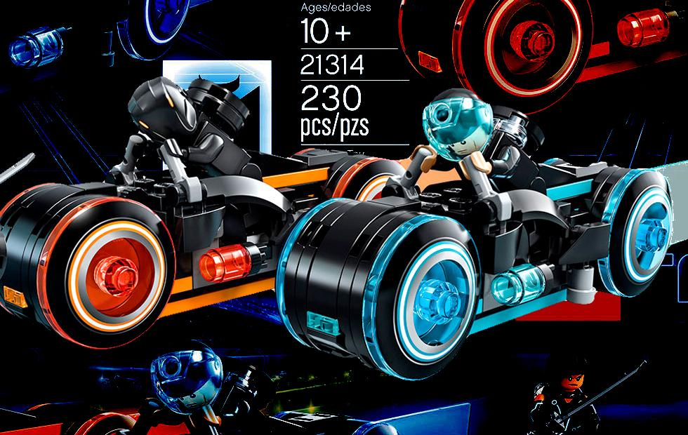 TRON LEGO Light Cycles set ready for release at last
