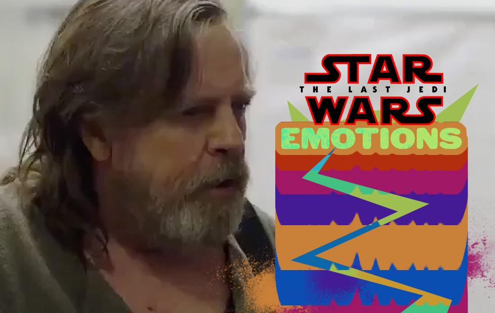 Watch Mark Hamill tear up in this Last Jedi documentary clip