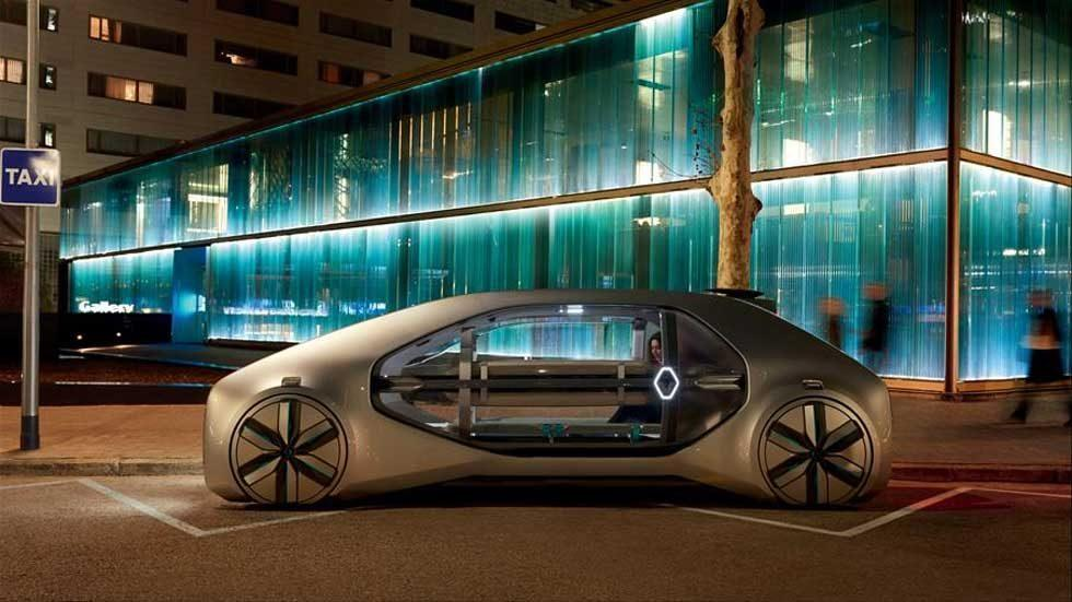Renault EZ-Go is a future vision of shared mobility