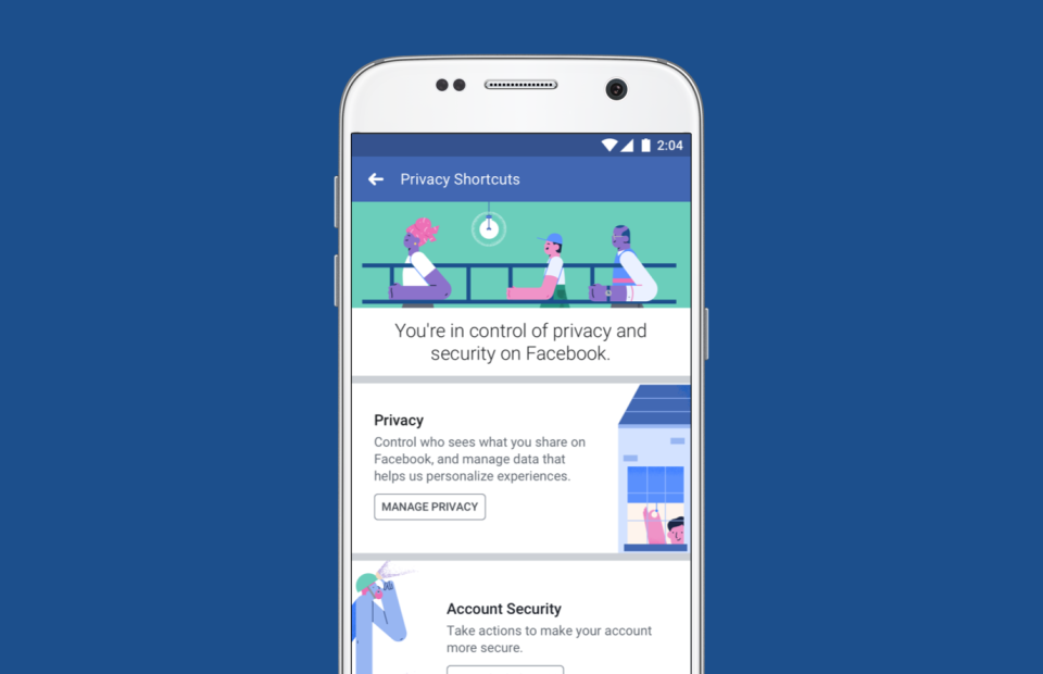 Facebook privacy settings finally get a long-needed update