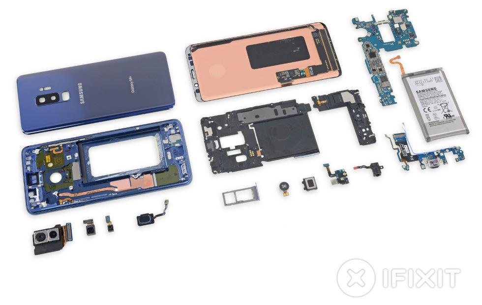 Galaxy S9+ teardown bares dual aperture secrets