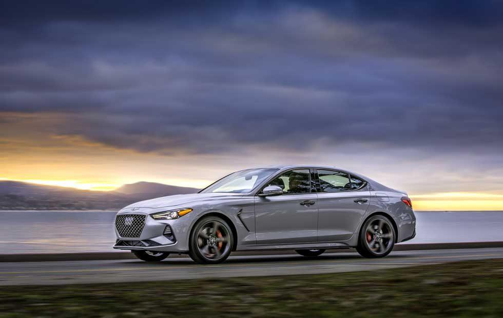 2019 Genesis G70 debuts with available 6-speed manual and Brembo brakes