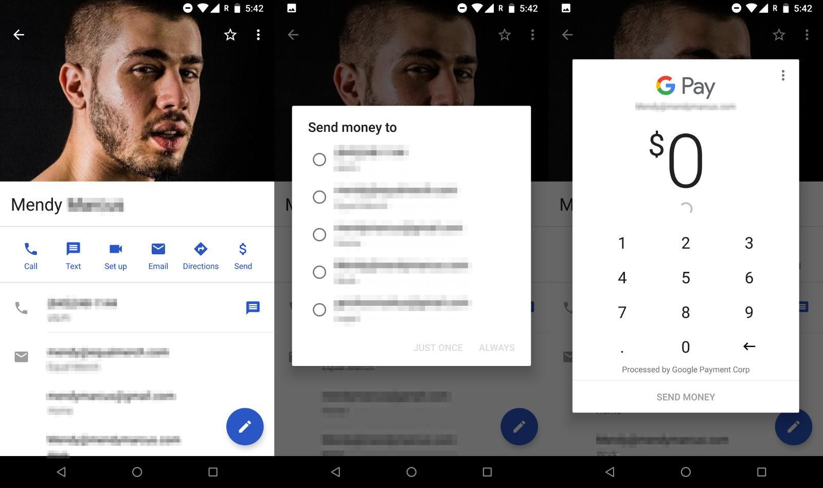 Google Contacts can send money via Google Pay Send - SlashGear