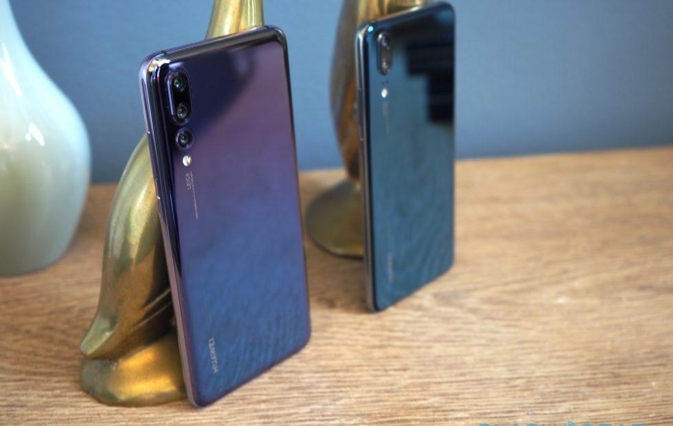 Huawei P20 Pro and P20 Gallery