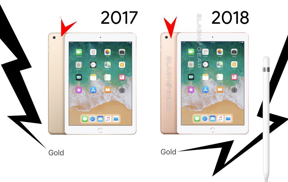 Ipad 2018 Vs 2017 New Product Old Hardware Slashgear