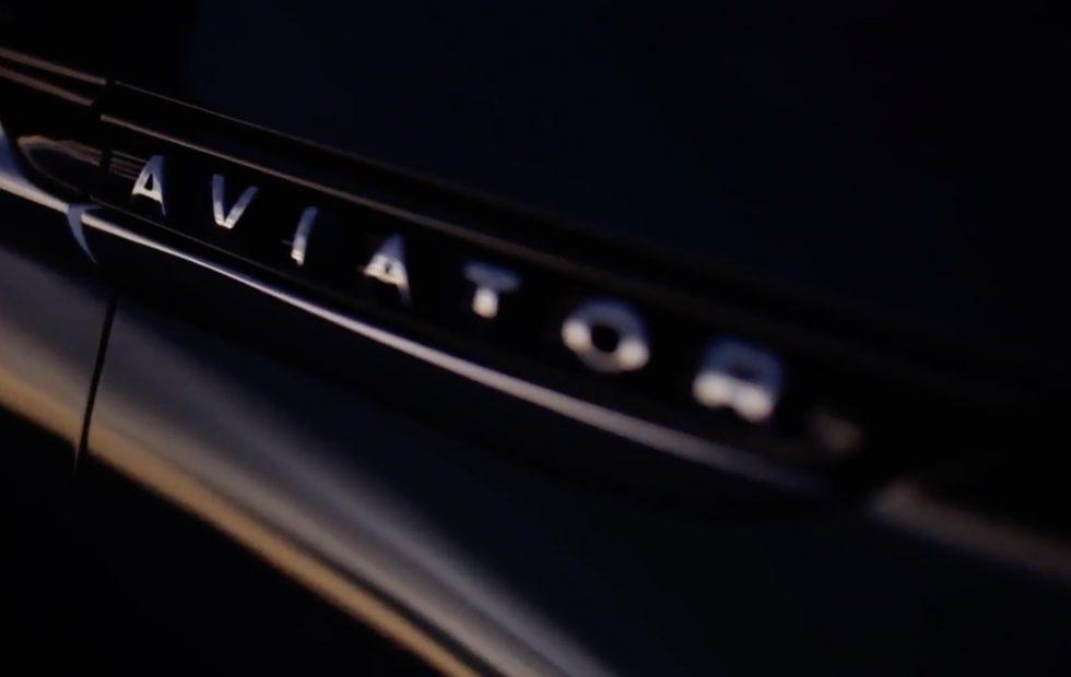 Lincoln Aviator teased for New York concept reveal