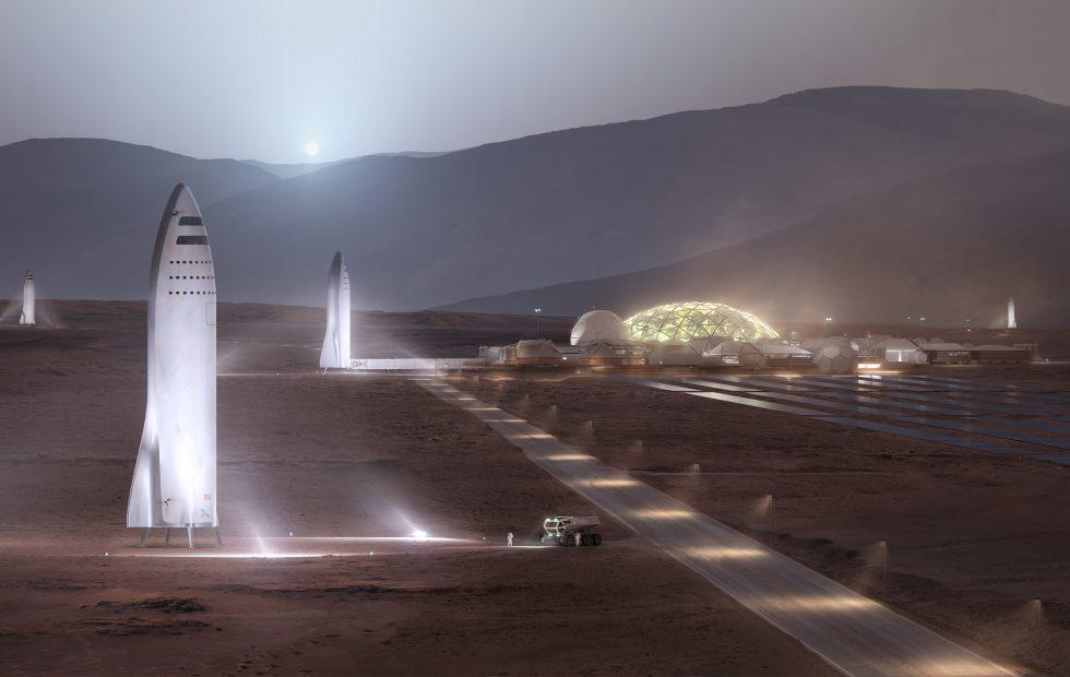SpaceX BFR Mars rocket may be built in Los Angeles