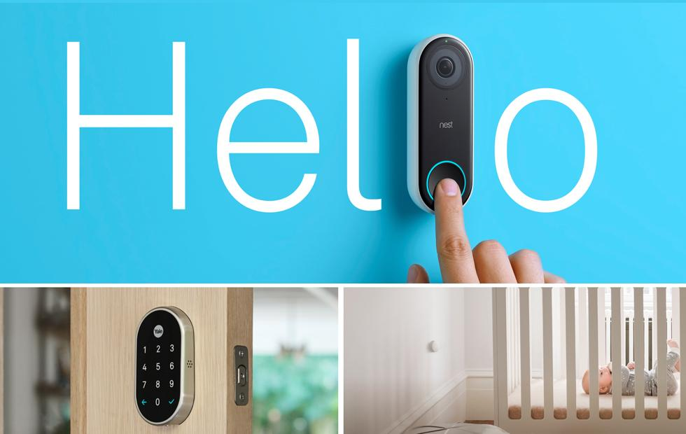 Nest x Yale Lock, Hello, and Temp Sensor make the smart home