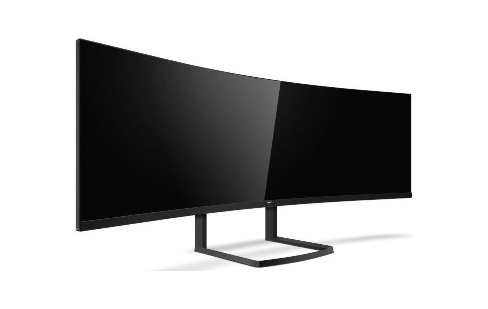 Philips Brilliance 492P8 49″ ultra-wide curved QHD monitor unveiled