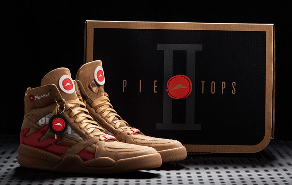 Pizza Hut Pie Tops II smart shoes can pause TV, order pizza
