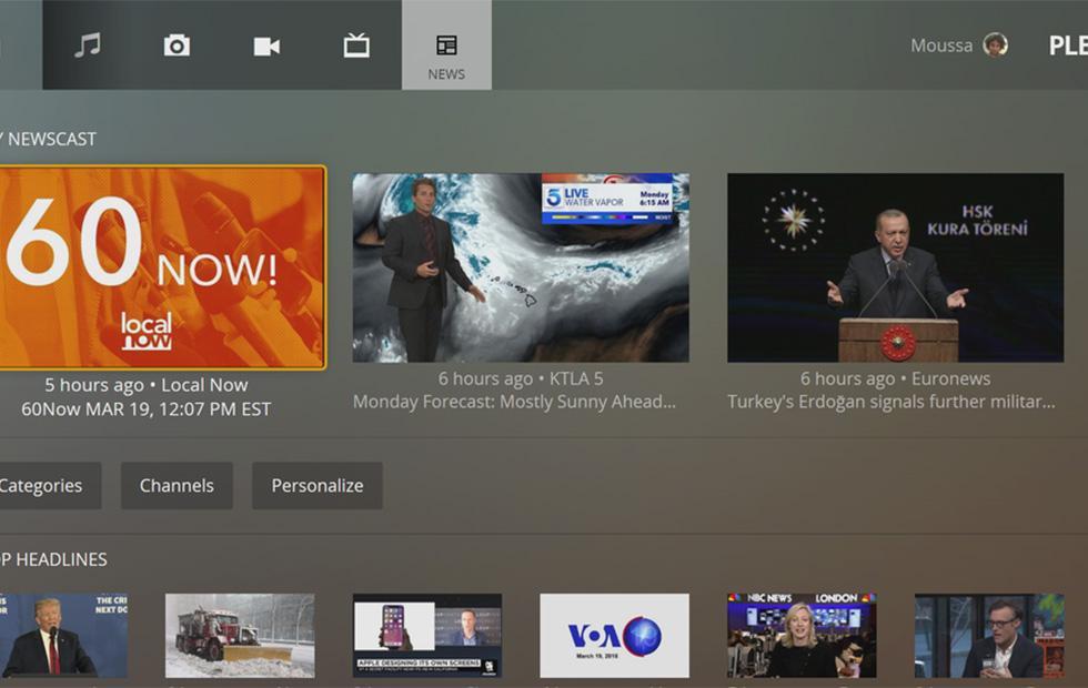 Plex News gets Xbox One support, major Android update inbound