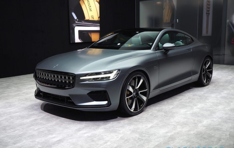 The Polestar 1 looks stunning in Geneva matte gray