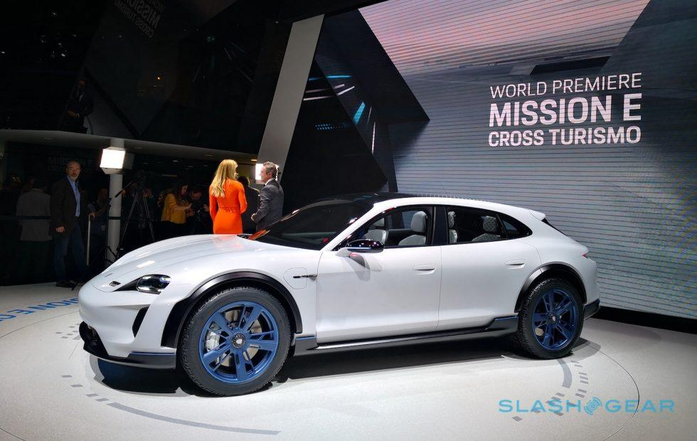 Porsche Mission E Cross Turismo teases EV crossover to rival Tesla