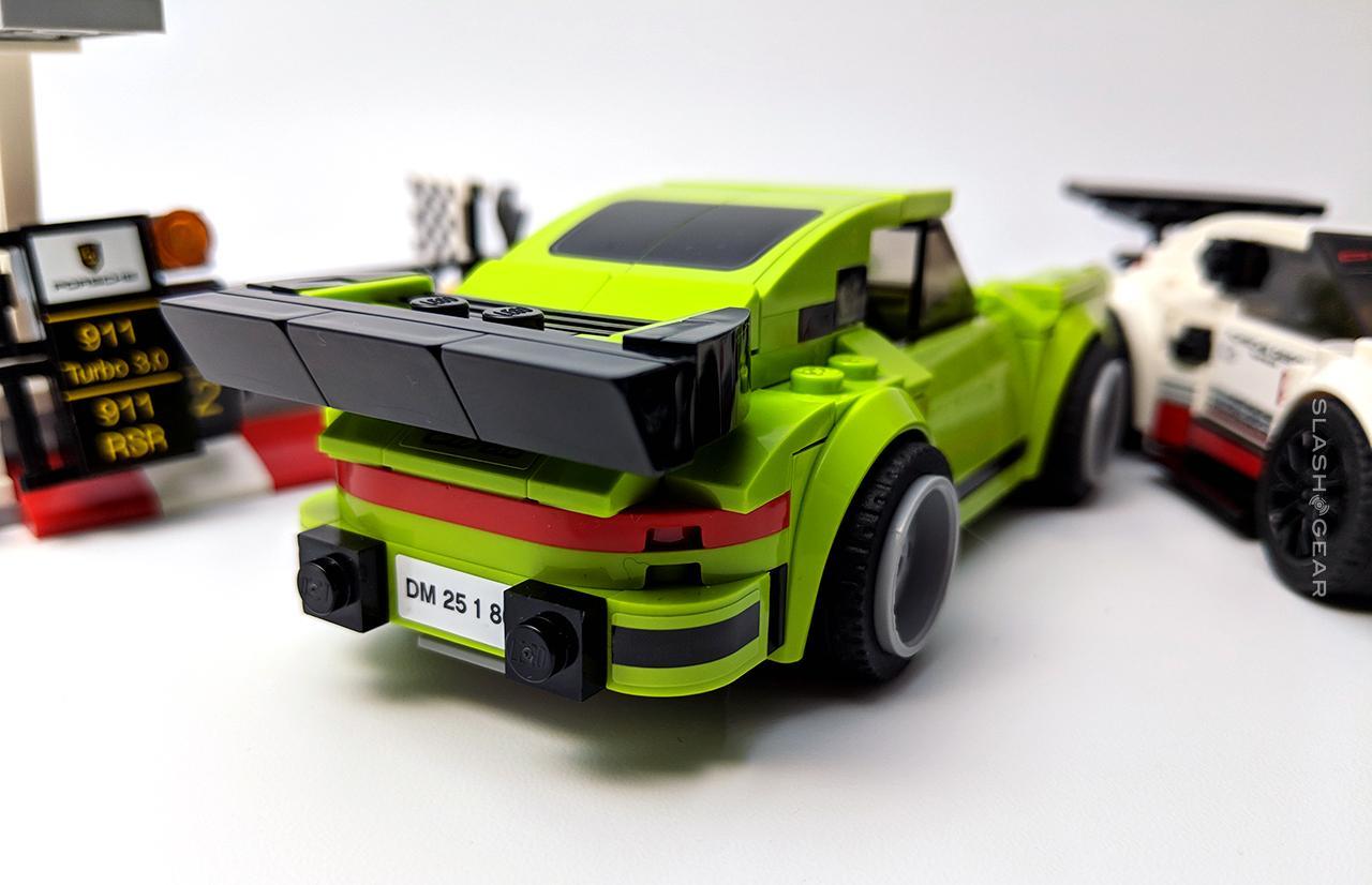 lego speed champions porsche  rsr   turbo
