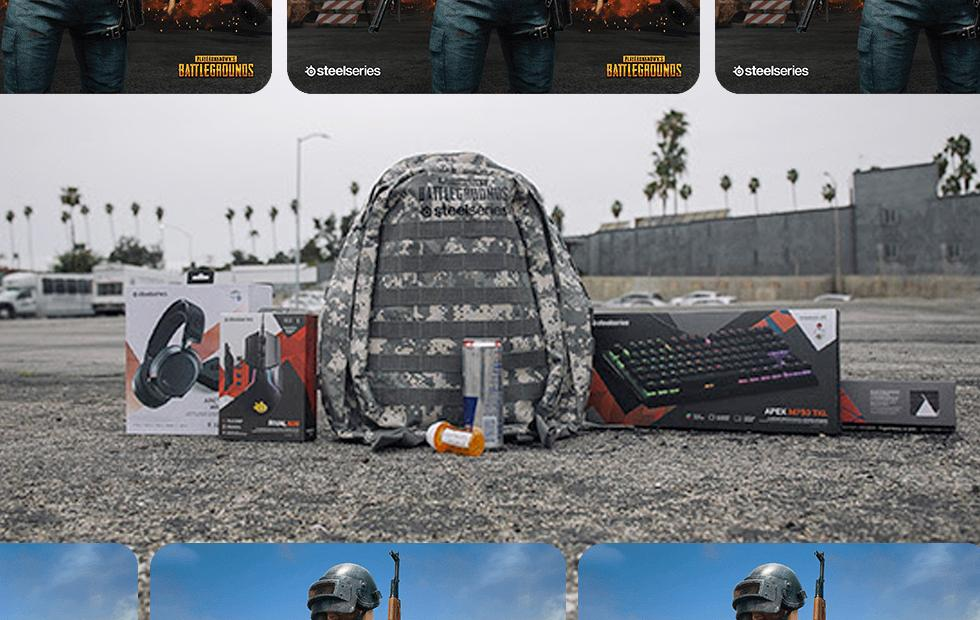 PUBG SteelSeries accessories revealed