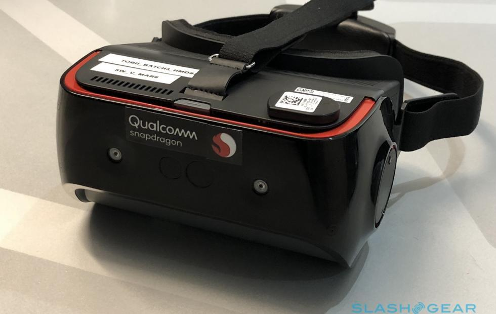 Qualcomm Snapdragon 845 VR dev kit: no beacons, no wires, all eyes