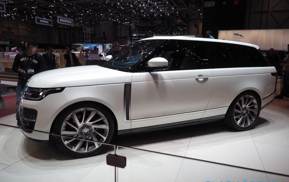 This Range Rover SV Coupe is either genius or insanity