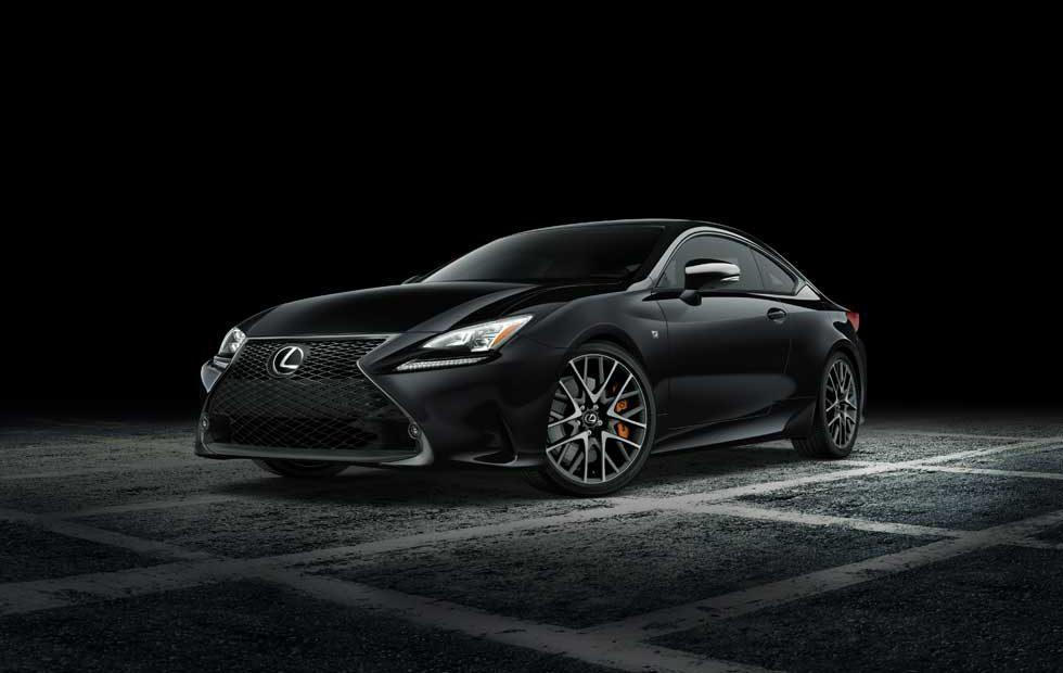 Lexus RC F Sport Black Line Special Edition debuts in NYC