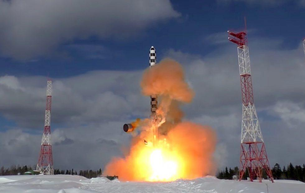 Watch Russia's Satan 2 ICBM launch in missile's second test