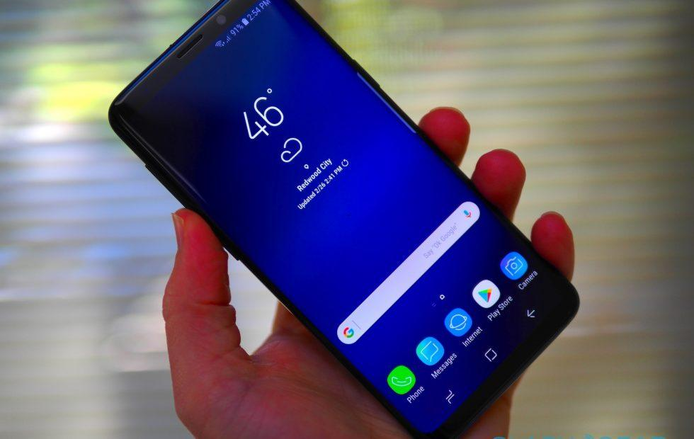 Galaxy S9 display dead-zones: Here's Samsung's response