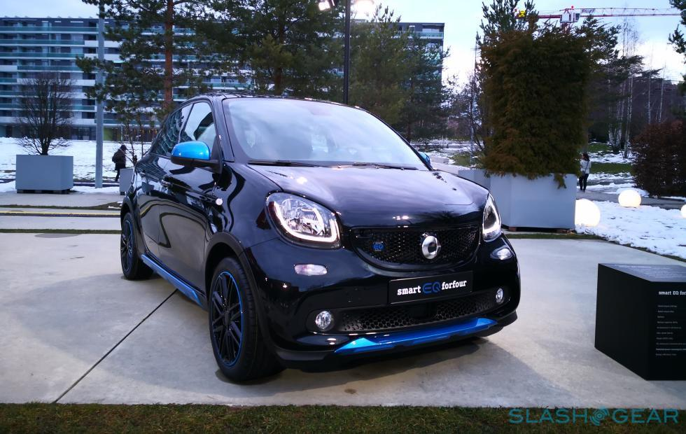 smart EQ fortwo, forfour lead Mercedes-Benz's electric dreams