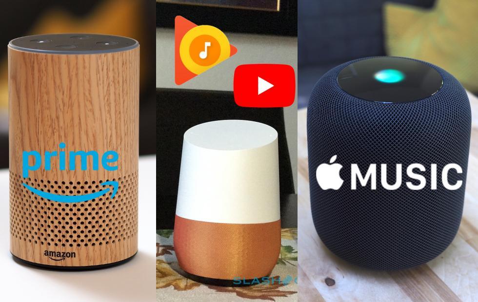 Smart speakers are music streaming's new battleground