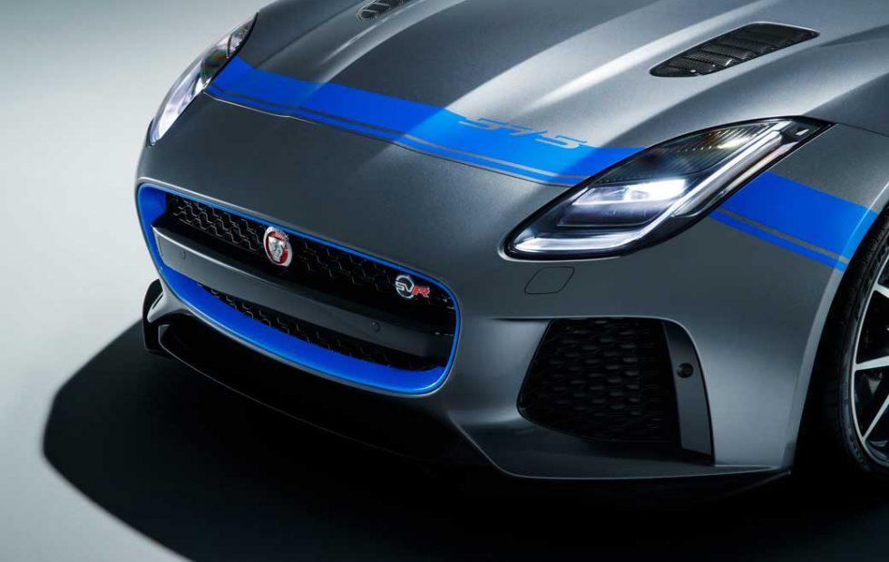 Jaguar F-Type SVR Graphic Pack is a no cost option