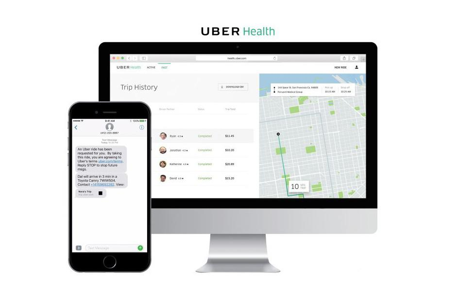 Uber Health helps patients get to their appointments on time