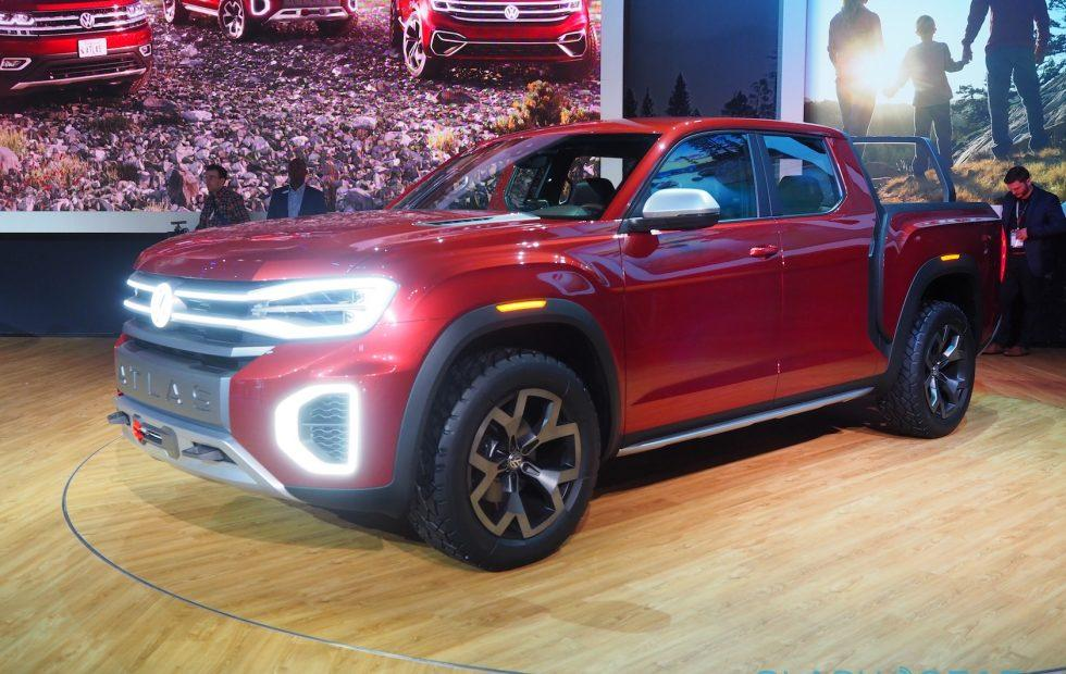 VW Atlas Tanoak first look: Volkswagen, build this pickup