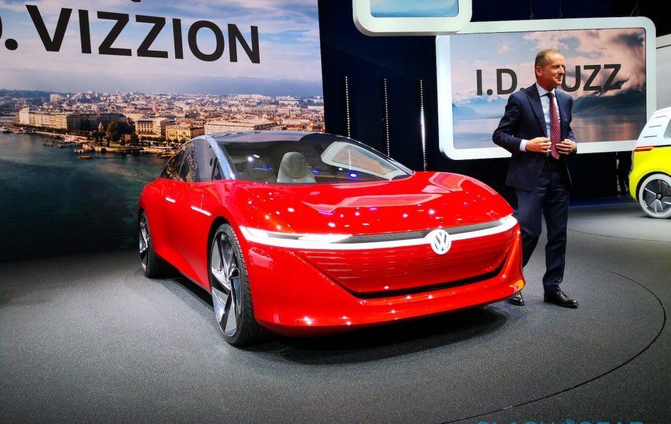 VW plans 2022 release for I.D. VIZZION autonomous luxe-EV