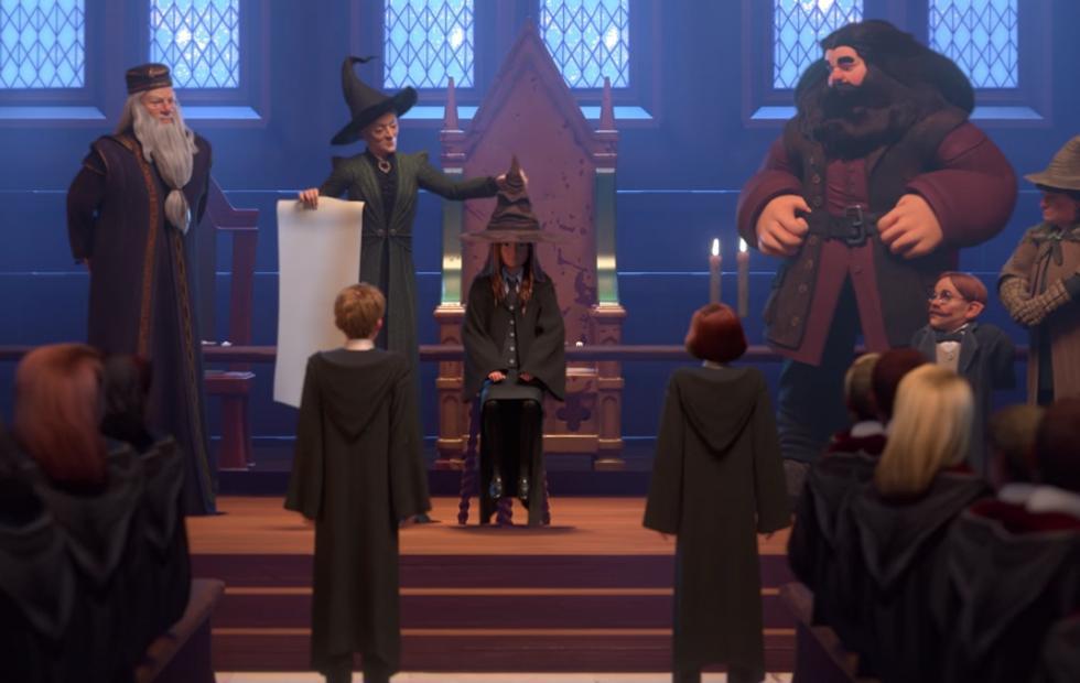 Harry Potter Hogwarts Mystery game looks a lot like a Telltale RPG