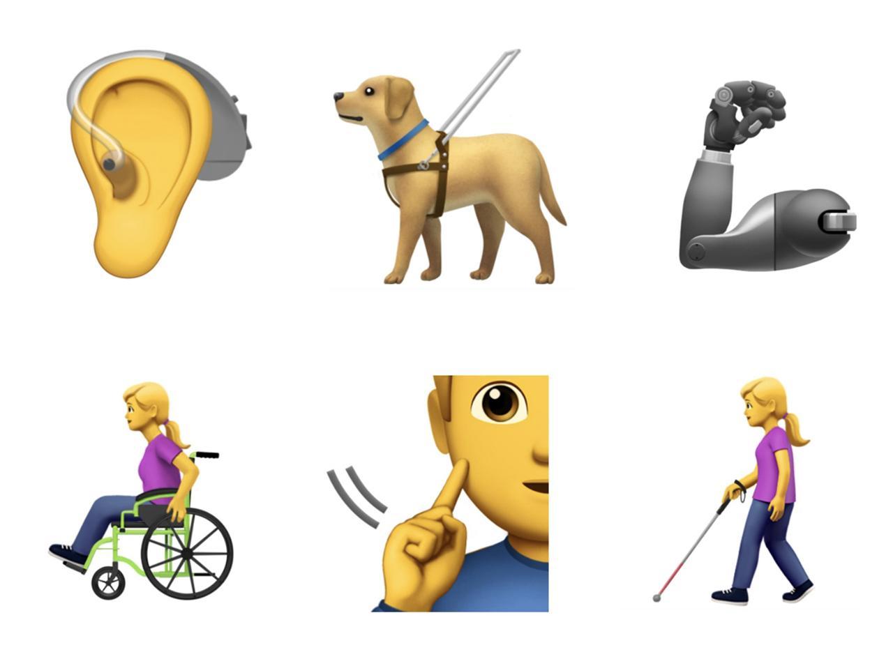 Apple's new emojis are accessibility-centric - SlashGear
