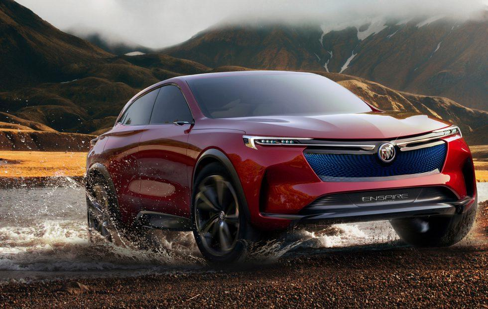 This stunning Buick Enspire concept is a 550hp electric SUV