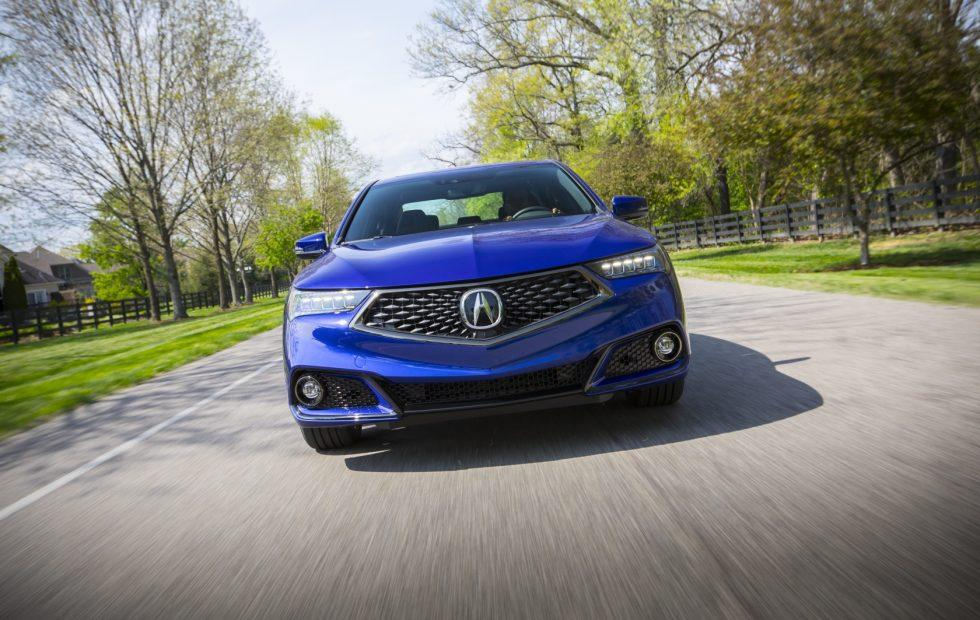 2019 Acura TLX A-Spec 4-cylinder makes sports styling cheaper
