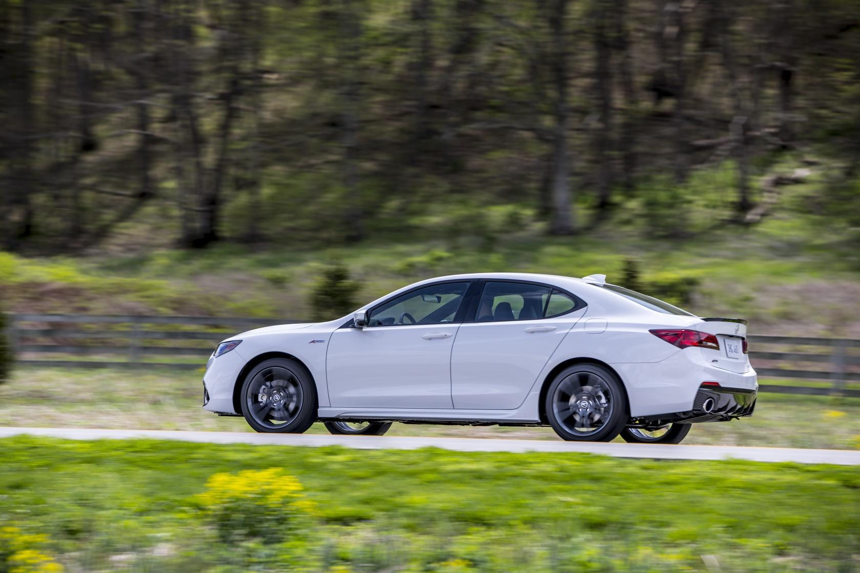 2019 Acura Tlx A Spec 4 Cylinder Makes Sports Styling Cheaper Slashgear